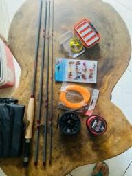 Kit pesca de fly