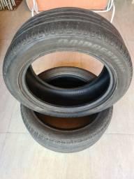 PAR de pneus Bridgestone 235/50 R18 97V meia vida