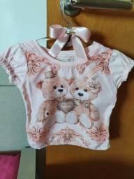 Lindas roupas infantis, tamanhos 2 e 3