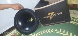 Alto-falante 12 zetta 600rms  novo nunca foi usado