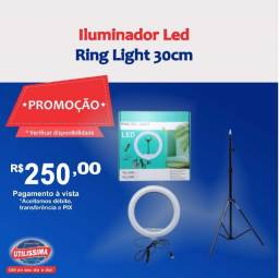 Iluminador Led Ring Light 30cm ?