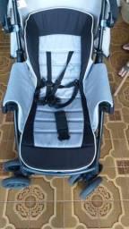 Carrinho de bebe + bebe conforto com base