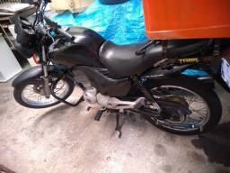 Honda CG Fan 150 ESDi Flex 2010/11 Preta R$ 7.500,00 WhatsApp *