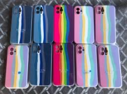 Capa iphone 12 case iphone 12 colorida entrega grátis