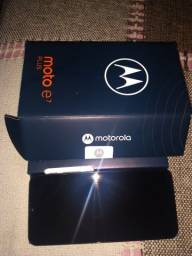 Moto E7plus novo completo com nota