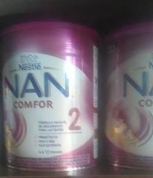 3 Latas de leite NAN 2