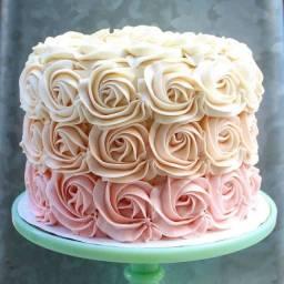 Promoção bolo de aniversário