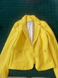 Blazer amarelo Renner tamanho 42
