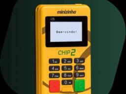 Maquineta de cartao Pagseguro minizinha chip2