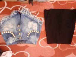Calças jeans por 30 reias ou 100 4 calças