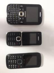 Vendo 3 aparelhos celulares