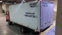 Mudanças BH caminhão baú.