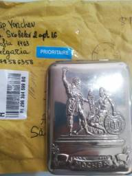 Cigarreira Russa Mokba década de 60 ! Original trazida diretamente da Russia !!!!!