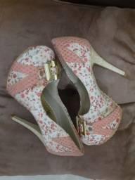 Sapato 35 salto 11 cm