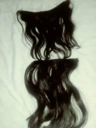 Duas telas de cabelo
