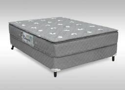 Título do anúncio: Cama box base casal + colchão D33 direto de fábrica