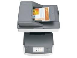 Impressora Lexmark X748de copia, impressão, scanner