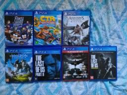 Jogos PS4 (Leia a Descrição)