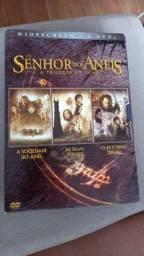 DVDs trilogia Senhor dos Aneis