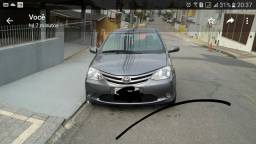 Toyota Etios 2013 completo SD XS  fone *