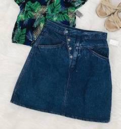 Saia jeans vintage retro 38