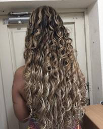 Entrelaçado com cabelo orgânico Premium