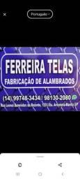 FABRICAÇÃO DE ALAMBRADOS
