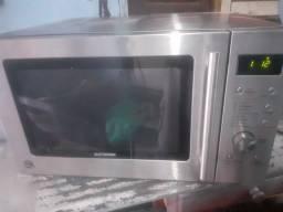 Microondas inox Grill