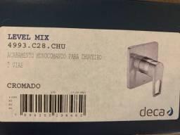 Acabamento Monocomando Chuveiro Deca Level Mix 4993.C28.Chu