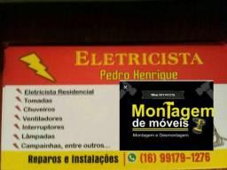 Eletricista e Montador melhor preço *
