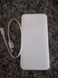 PowerBank carregador portátil 10000 mAh xiaomi turbo redmi