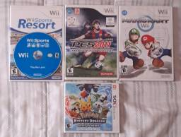 Jogos Nintendo Wii e 3DS Originais (EUA)