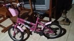 Bicicleta Cairu infantil feminina