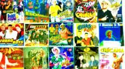 Top 60 CDs de Forró bandas diversas