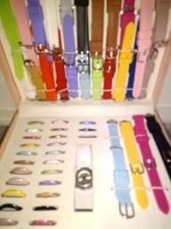 Vendo kit relógio feminina,muito lindo