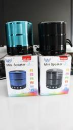 Caixa De Som Portátil Bluetooth Speaker Ws-887