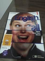 Doação Livro de Inglês Volume 1 e 2