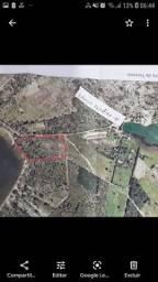 4,7 hectares  beira de lagoa  da BOA ÁGUA