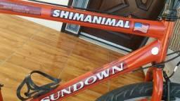 Vendo bicicleta super forte aro 26 por 280 reais entrego