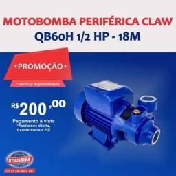 Motobomba periférica QB60H 1/2 HP? Entrega grátis