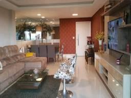 Lindo apartamento no Bela Vista em Volta Redonda. Sala ampla com 2 ambientes e sacada com