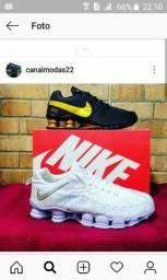 Nike shox/ Branco 12 molas