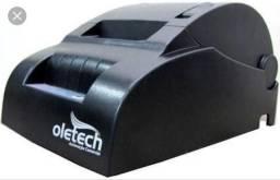 Impressora térmica oletech 57mm