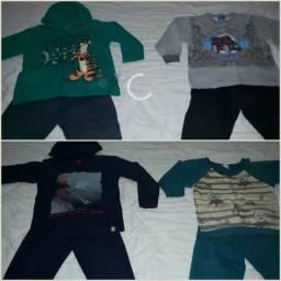 Lot de roupa infantil menino 3 anos