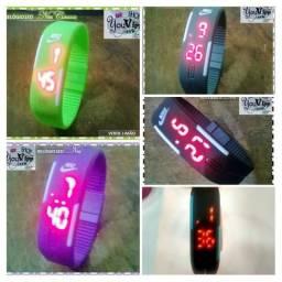 Relógios Digitais Nike Led Automático