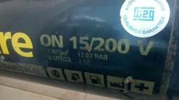 Compressor industrial pressure 15 pés