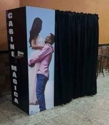 Cabine de fotos (Cabine mágica)