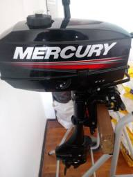 Motor mercury 3.3 hp 2017 e bote inflável intex mariner 2017 - 2017