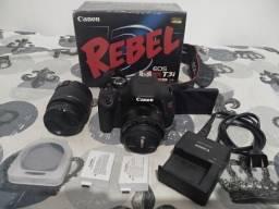 Canon Rebel (600D) T3i (Venda ou Troca)