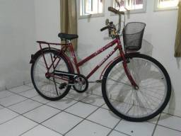 Bicicleta houston vermelha